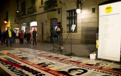 Dilluns, 19 d'octubre a la plaça de la Vila